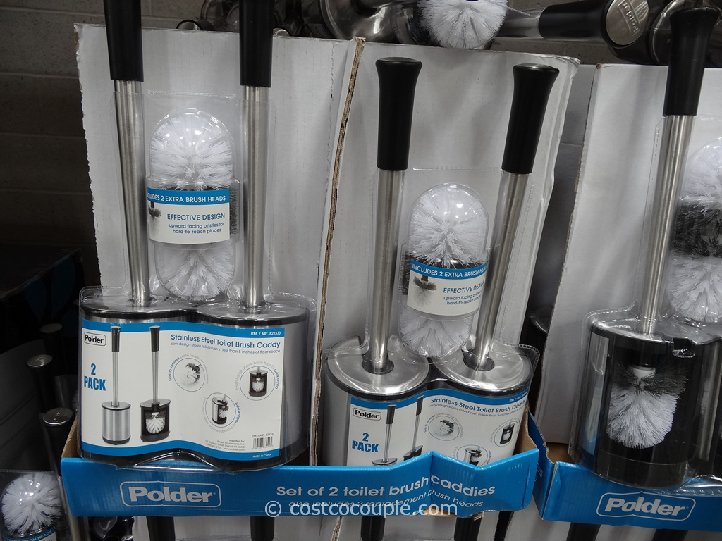 Polder Toilet Brush Set Costco 2