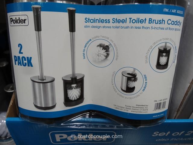 Polder Toilet Brush Set Costco 3