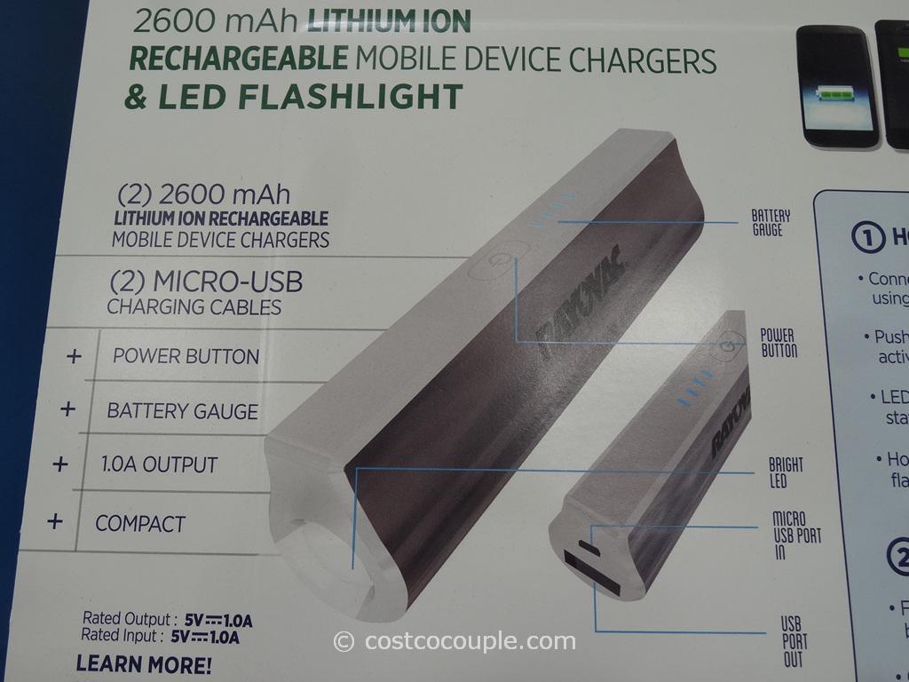 Rayovac Portable Power Pack