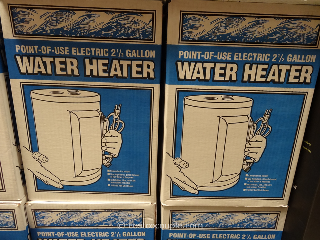 Rheem Point-Of-Use Electric Water Heater Costco 1