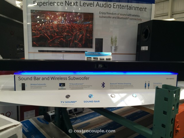 Samsung Soundbar with Wireless Subwoofer Costco  3