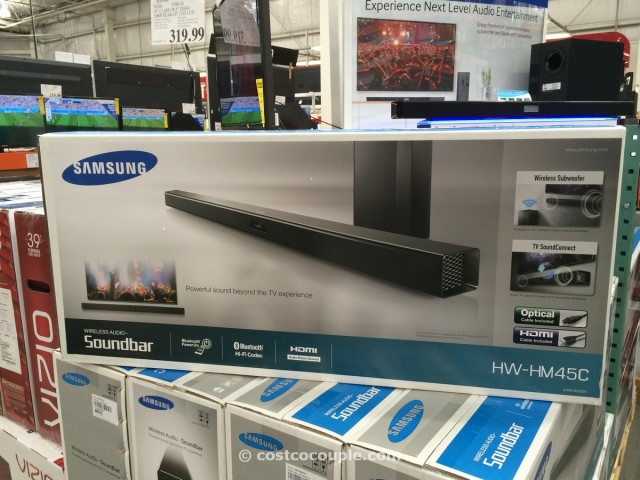 Samsung Soundbar with Wireless Subwoofer Costco  5