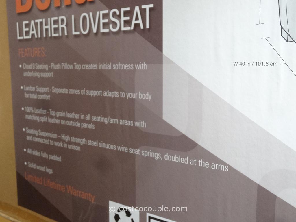 Simon Li Bella Leather Loveseat