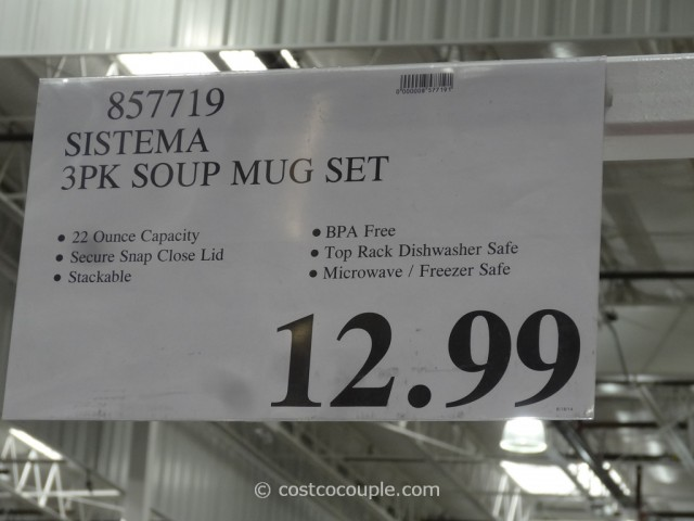 Sistema Soup Mugs Costco 1