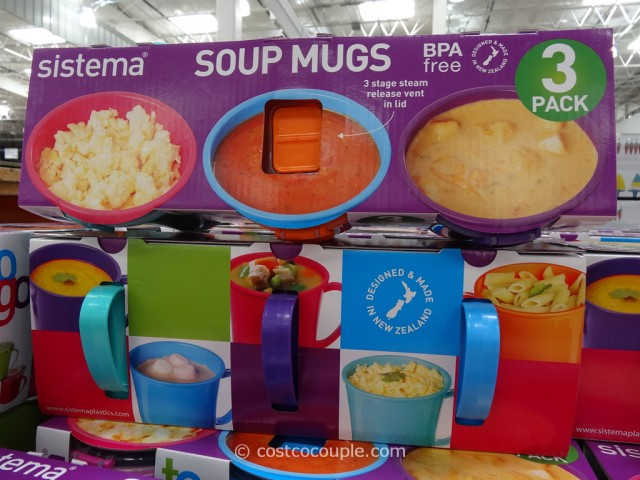 Sistema Soup Mugs Costco 2
