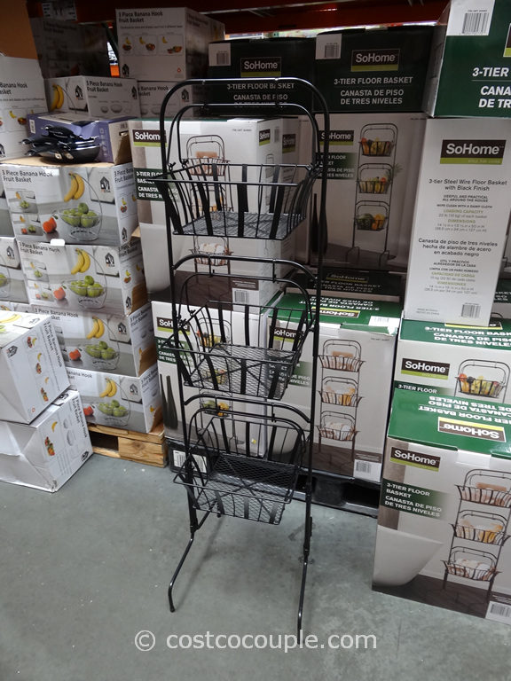 So Home 3 Tier Basket Costco 1