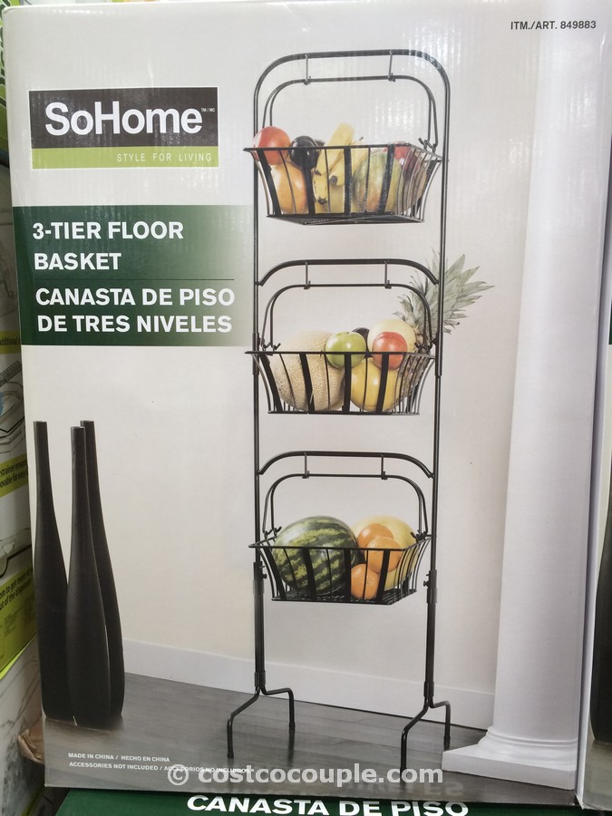 So Home 3 Tier Basket Costco 2