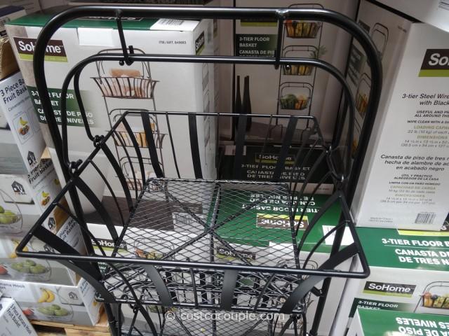 So Home 3 Tier Basket Costco 2