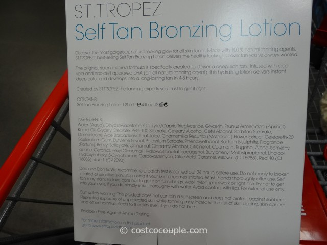 St Tropez Self Tan Bronzing Lotion Costco 2