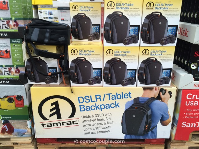 Tamrac DSLR and Tablet Backpack Costco 1