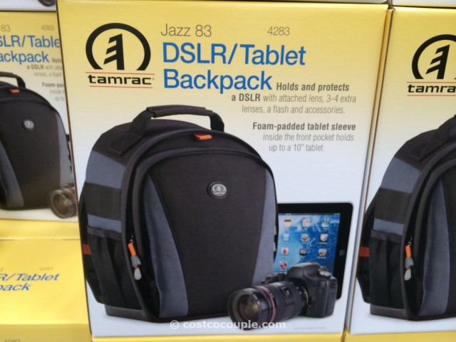Tamrac DSLR and Tablet Backpack Costco 2