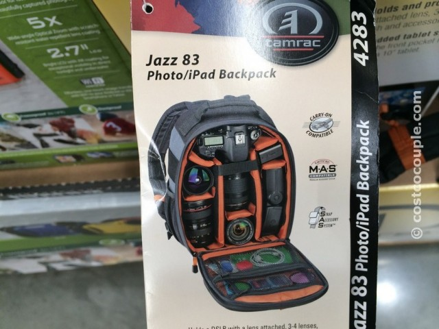 Tamrac DSLR and Tablet Backpack Costco 5