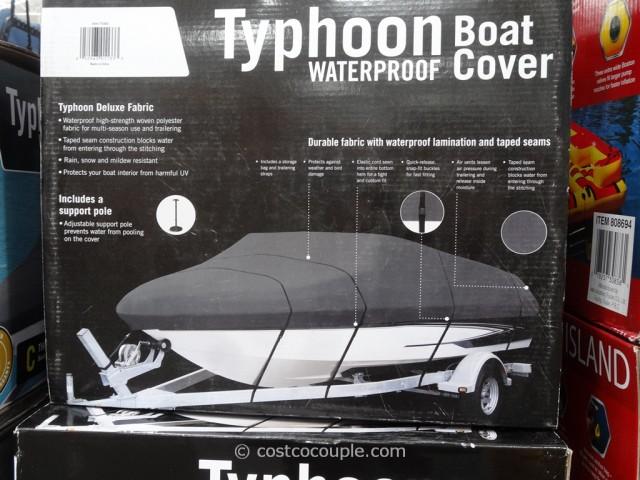 Typhoon Waterproof Boat Cover Costco 2