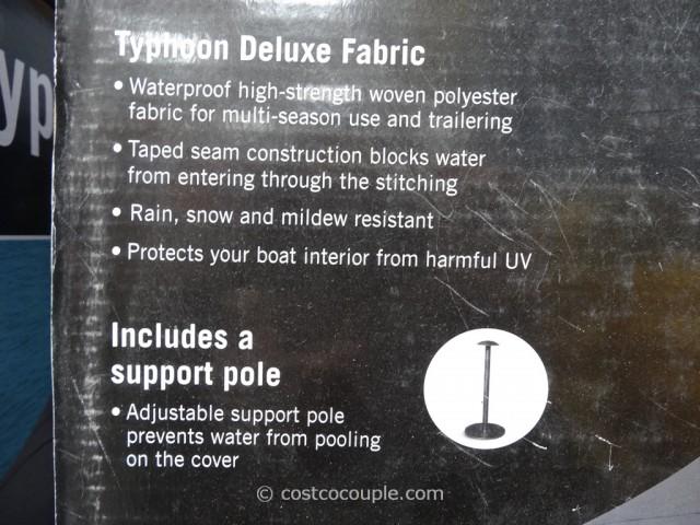 Typhoon Waterproof Boat Cover Costco 3