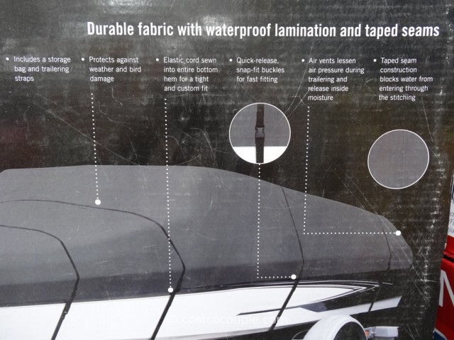 Typhoon Waterproof Boat Cover Costco 4