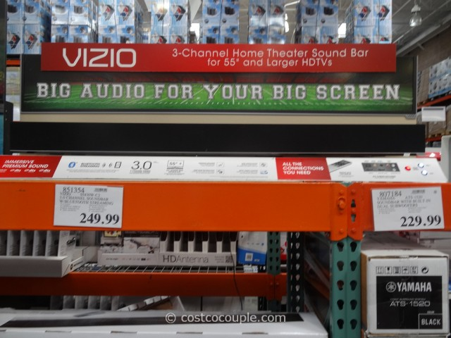 Vizio Soundbar  With Bluetooth Streaming Costco 3