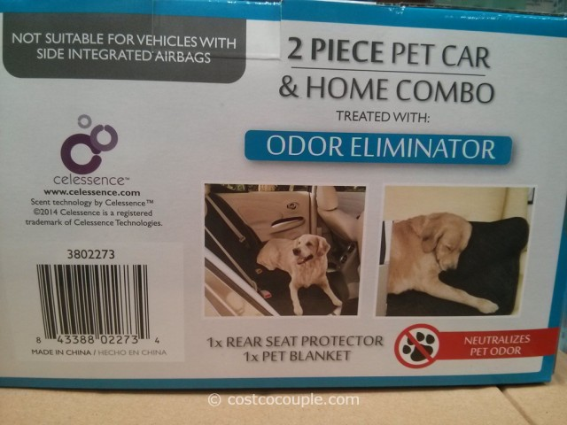 2air Rear Set Pet Protector With Blanket