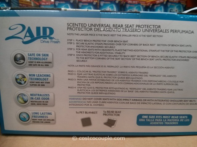 2Air Rear Set Pet Protector With Blanket Costco 4