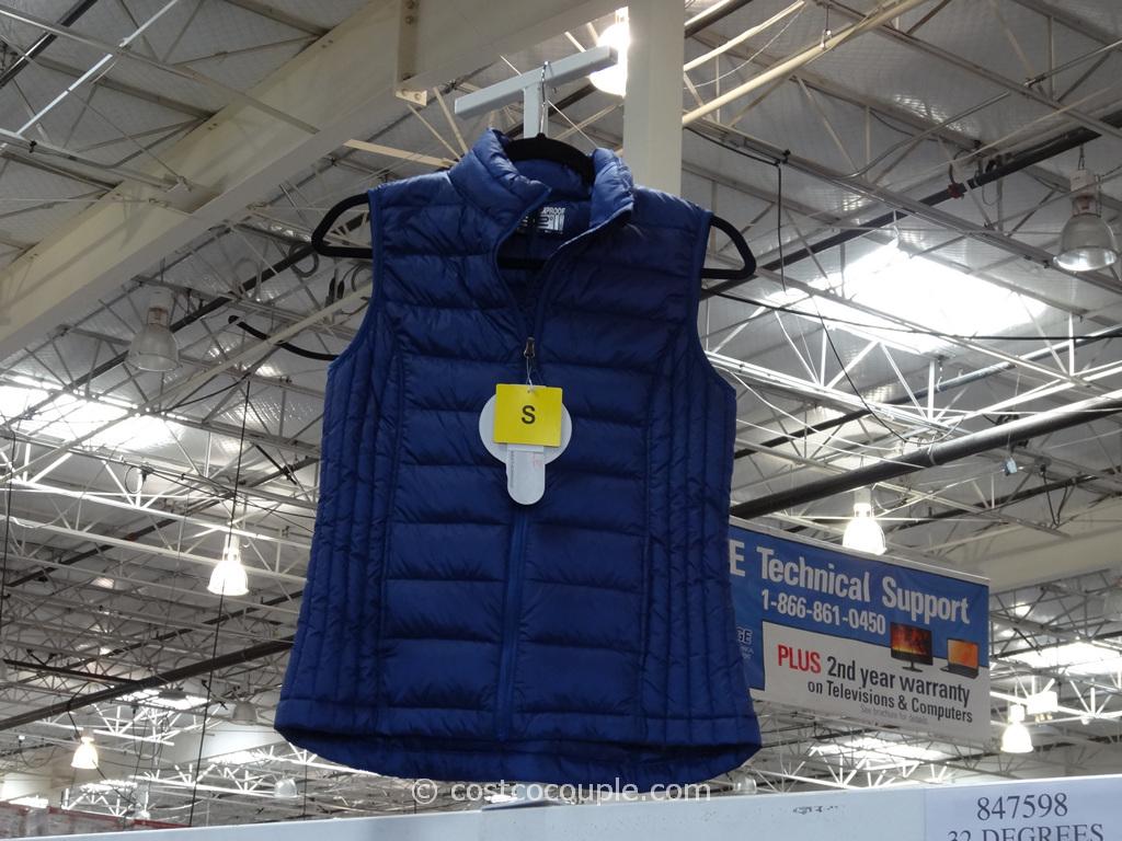 32 Degrees Ladies Weatherproof Down Vest Costco 2