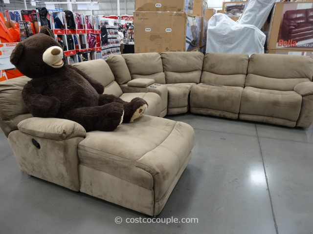 53-Inch Bear on Tanner Sofa Costco 1