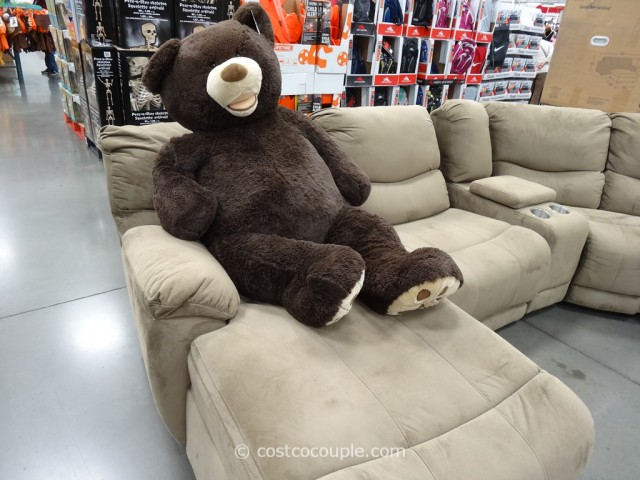 53-Inch Bear on Tanner Sofa Costco 2