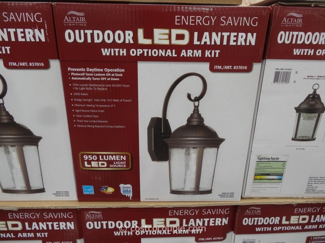 Altair Outdoor LED Lantern Costco 1 ... & Altair Outdoor LED Lantern azcodes.com