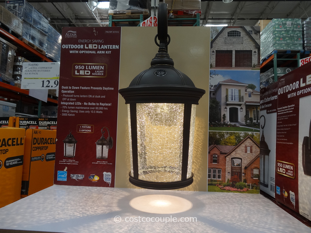 Altair Outdoor LED Lantern Costco 2