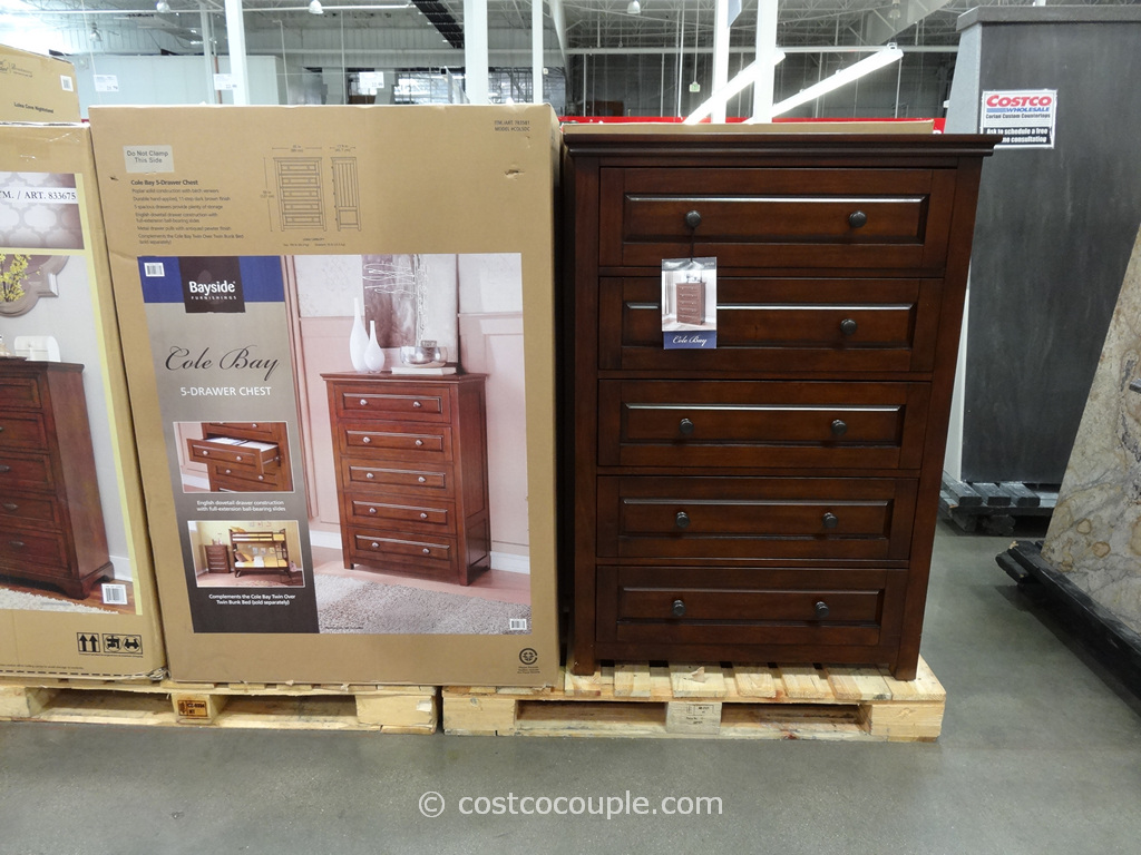 Bayside Furnishings Cole Bay Dresser Costco 2
