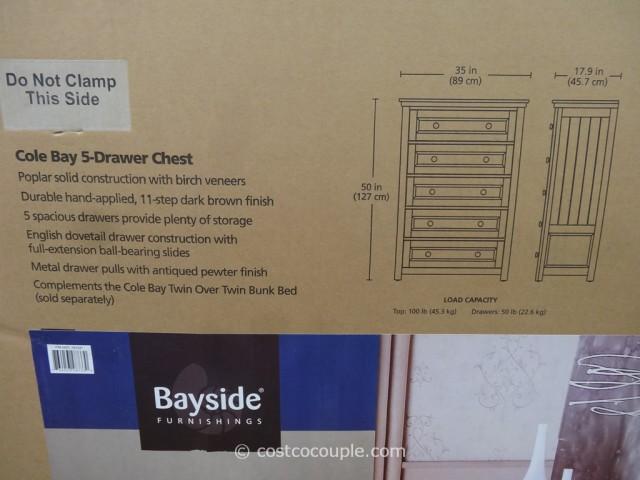 Bayside Furnishings Cole Bay Dresser Costco 3