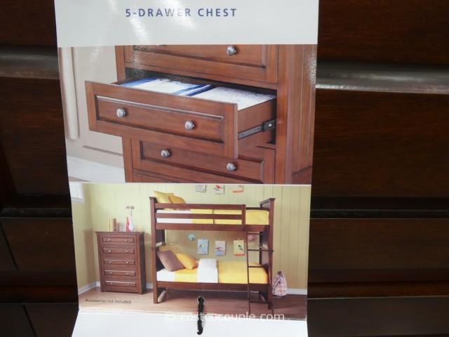 Bayside Furnishings Cole Bay Dresser Costco 7