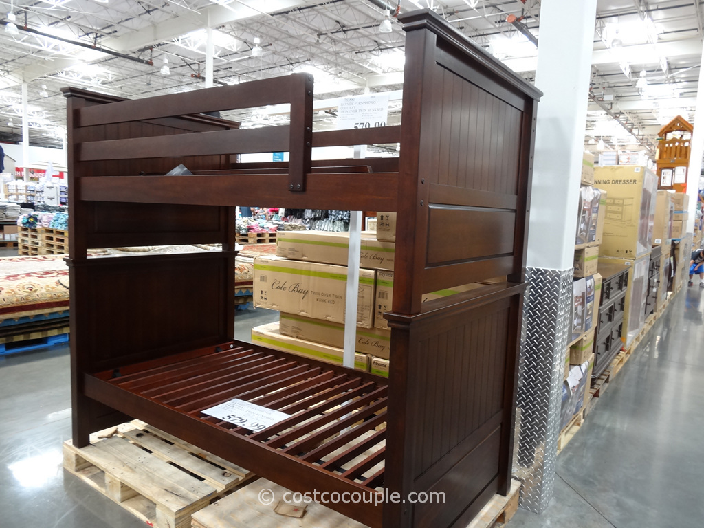 Bayside Furnishings Cole Bay Twin Over Twin Bunkbed Costco 5