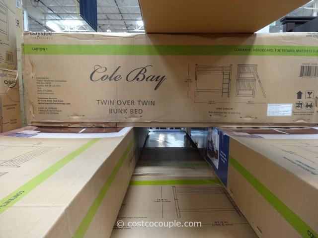 Bayside Furnishings Cole Bay Twin Over Twin Bunkbed Costco 8