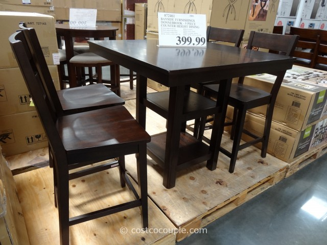 Bayside Furnishings Donnebrook Counter Height Dining Set Costco 6
