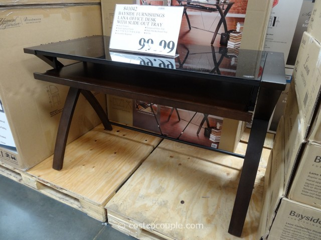 Bayside Furnishings Lana Computer Desk Costco 4