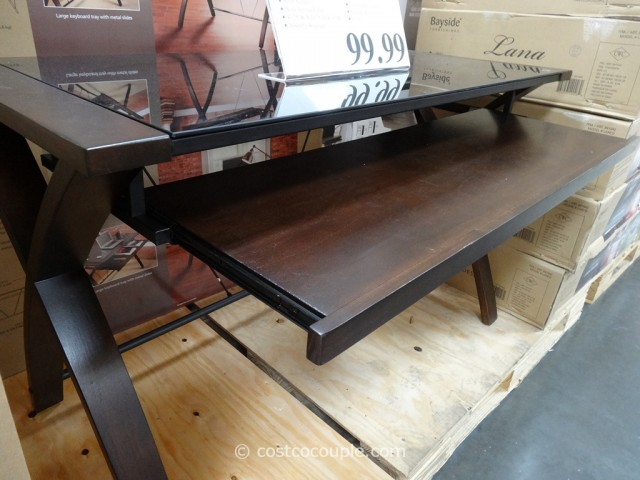 Bayside Furnishings Lana Computer Desk Costco 5