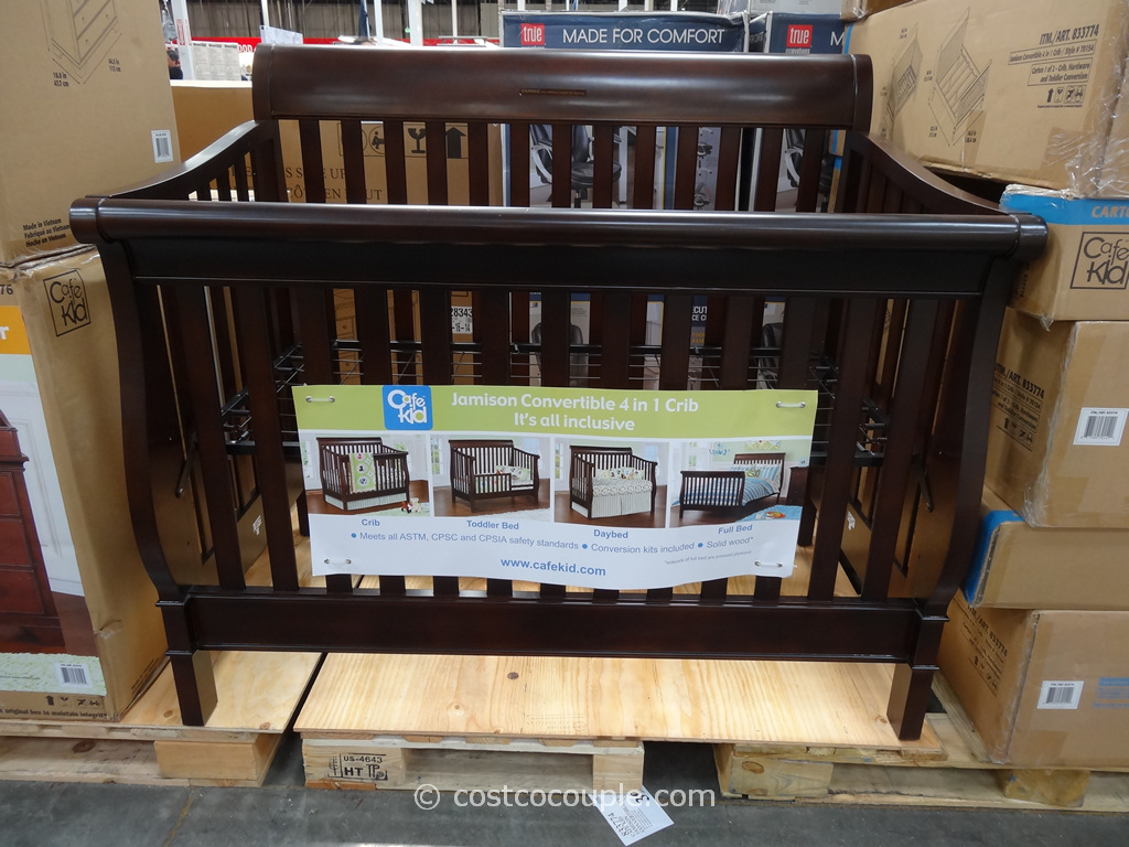 Cafe Kid Jamison Changing Convertible Crib Costco 2