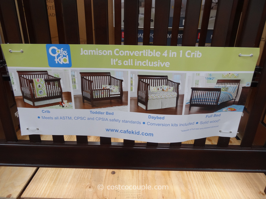 Cafe Kid Jamison Convertible 4 In 1 Crib