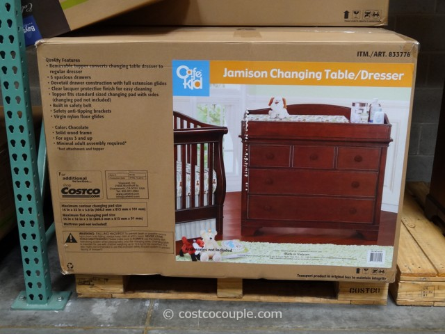 Cafe Kid Jamison Changing Table Dresser Costco 2