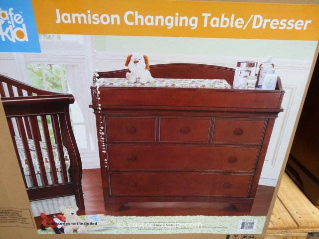 Cafe Kid Jamison Changing Table Dresser Costco 3