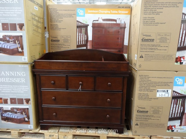 Cafe Kid Jamison Changing Table Dresser Costco 6