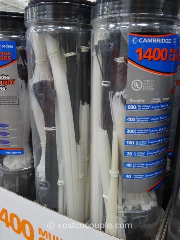 Cambridge Multi-Purpose Cable Ties Costco 3