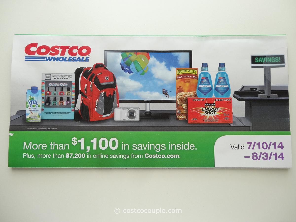 Costco July 2014 Coupon Book 1