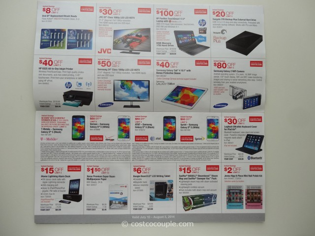 Costco July 2014 Coupon Book 3