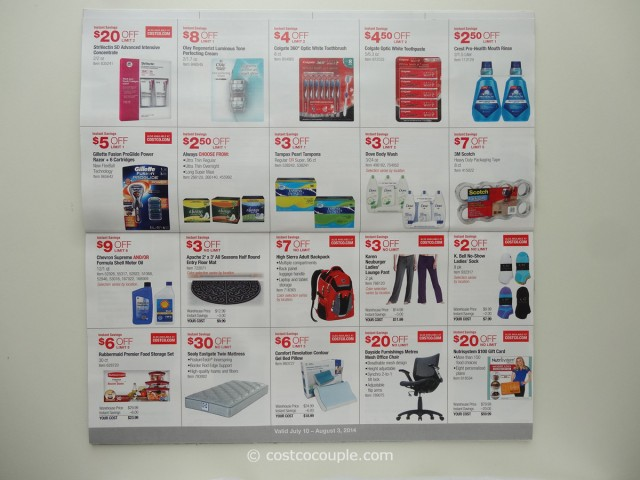 Costco July 2014 Coupon Book 4