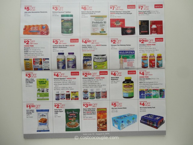 Costco July 2014 Coupon Book 5