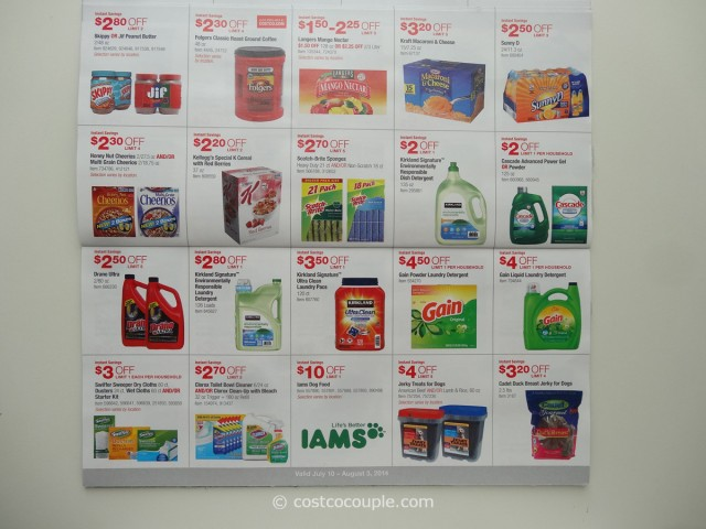 Costco July 2014 Coupon Book 6