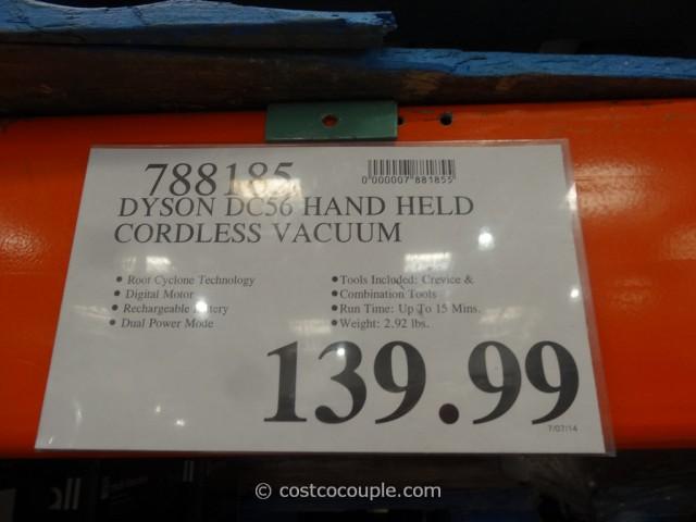 Dyson DC56 Handheld Cordless Vacuum Costco 1