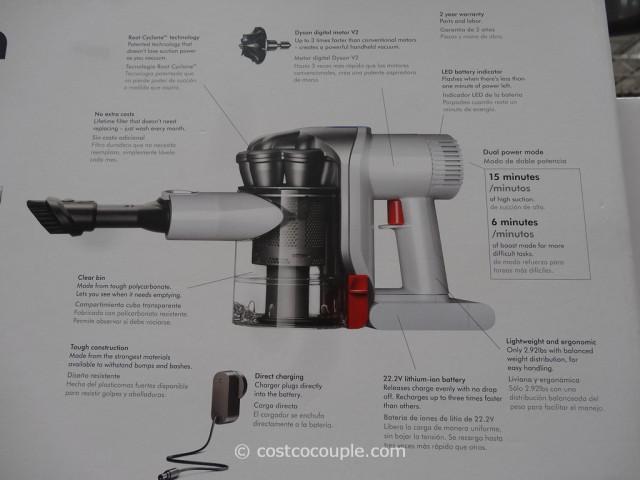 Dyson DC56 Handheld Cordless Vacuum Costco 8