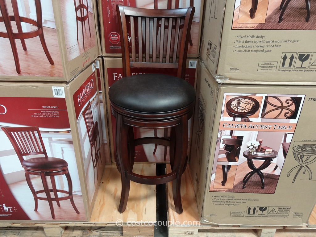 Fairfield Swivel Barstool Costco 2