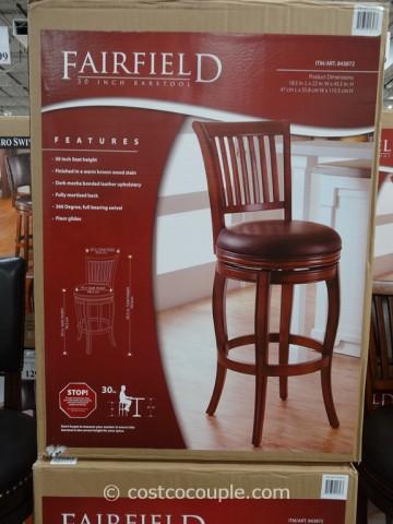 Fairfield Swivel Barstool Costco 3
